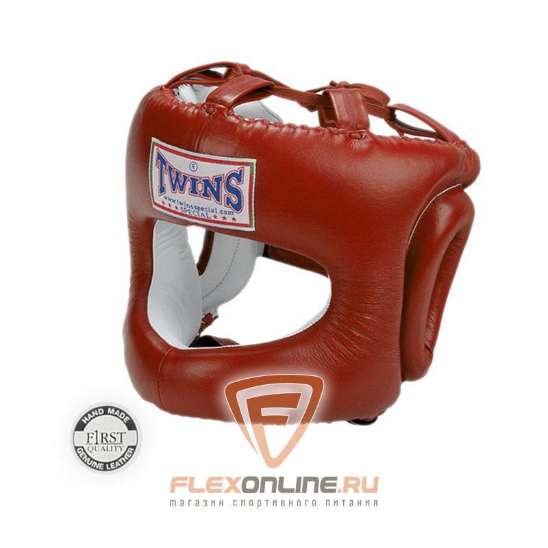 Шлемы Боксерский шлем с дугой XL красный от Twins