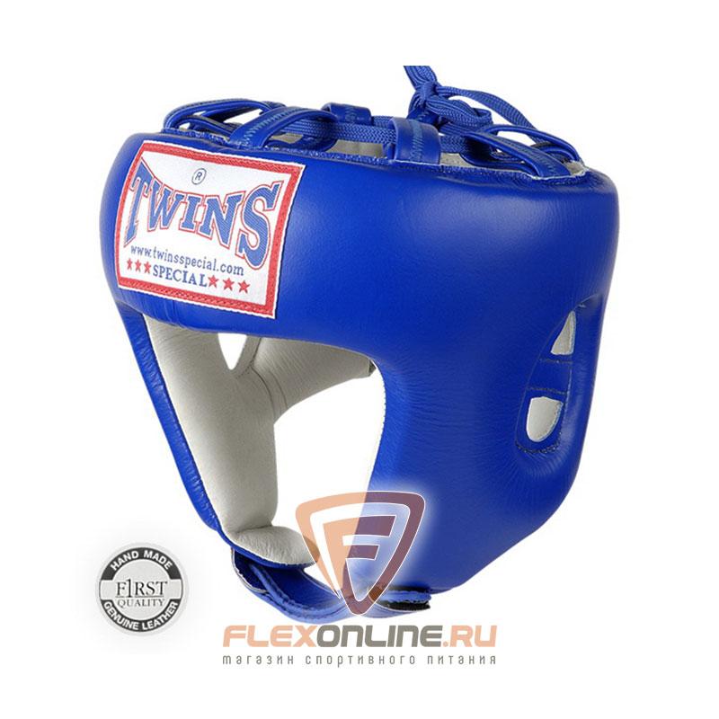 Шлемы Боксерский шлем соревновательный M синий от Twins