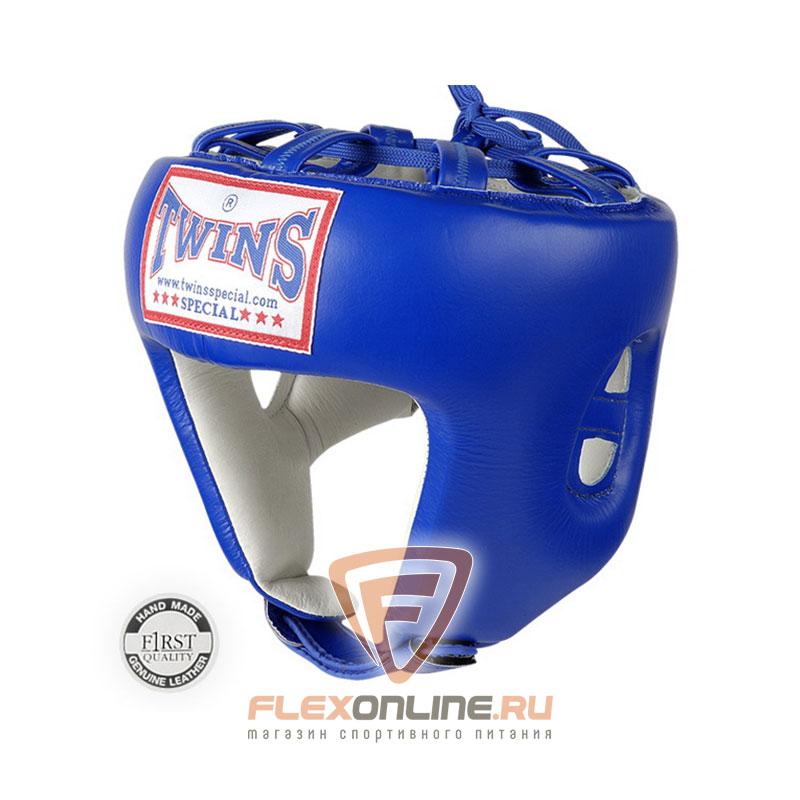 Шлемы Боксерский шлем соревновательный XL синий от Twins