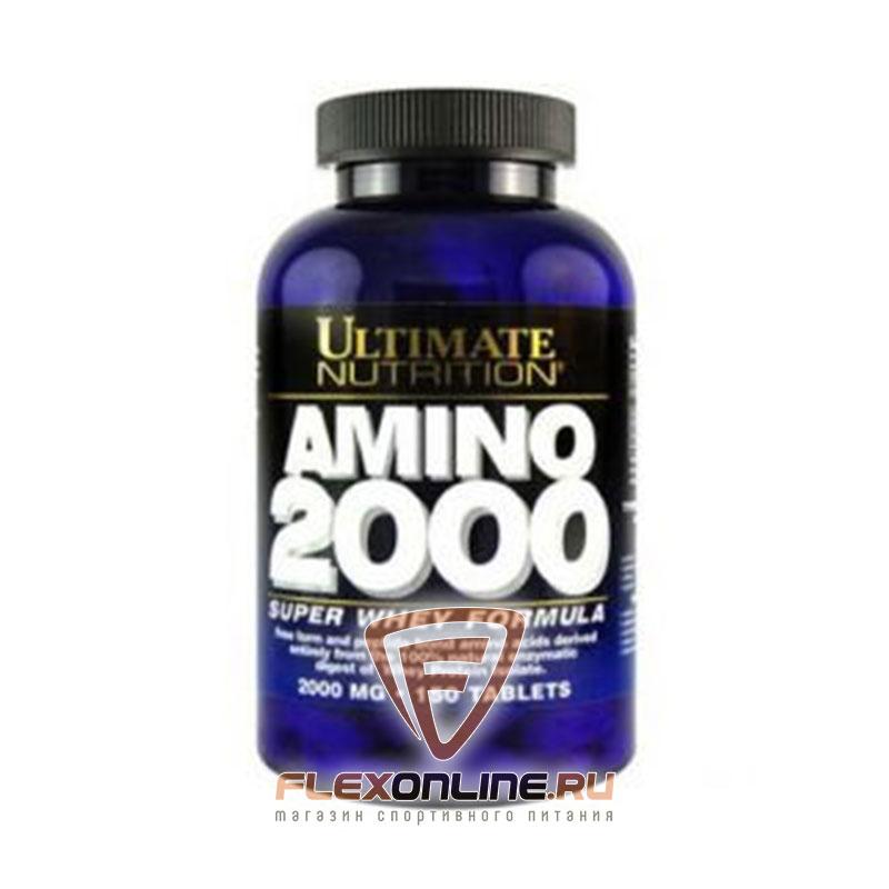 Аминокислоты Super Whey Amino 2000 от Ultimate Nutrition