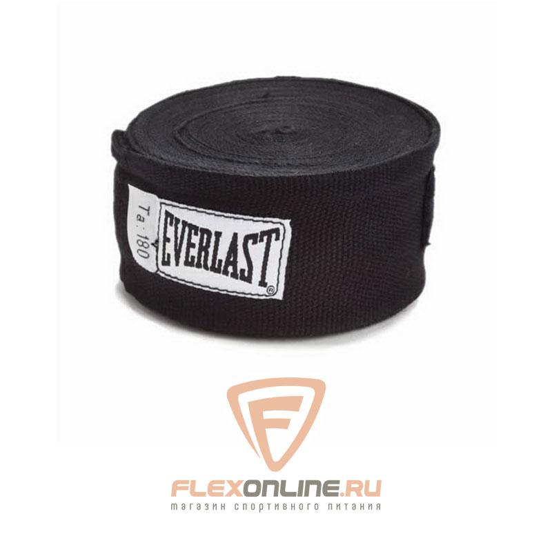 Бинты Боксерские бинты 4,5 м чёрные  от Everlast