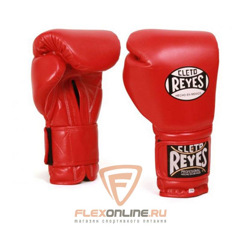 Боксерские перчатки Перчатки боксерские тренировочные на липучке 14 унций красные от Cleto Reyes