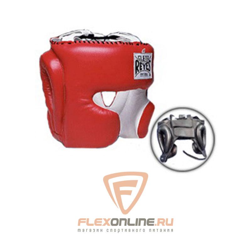 Шлемы Шлем боксерский тренировочный L красный от Cleto Reyes