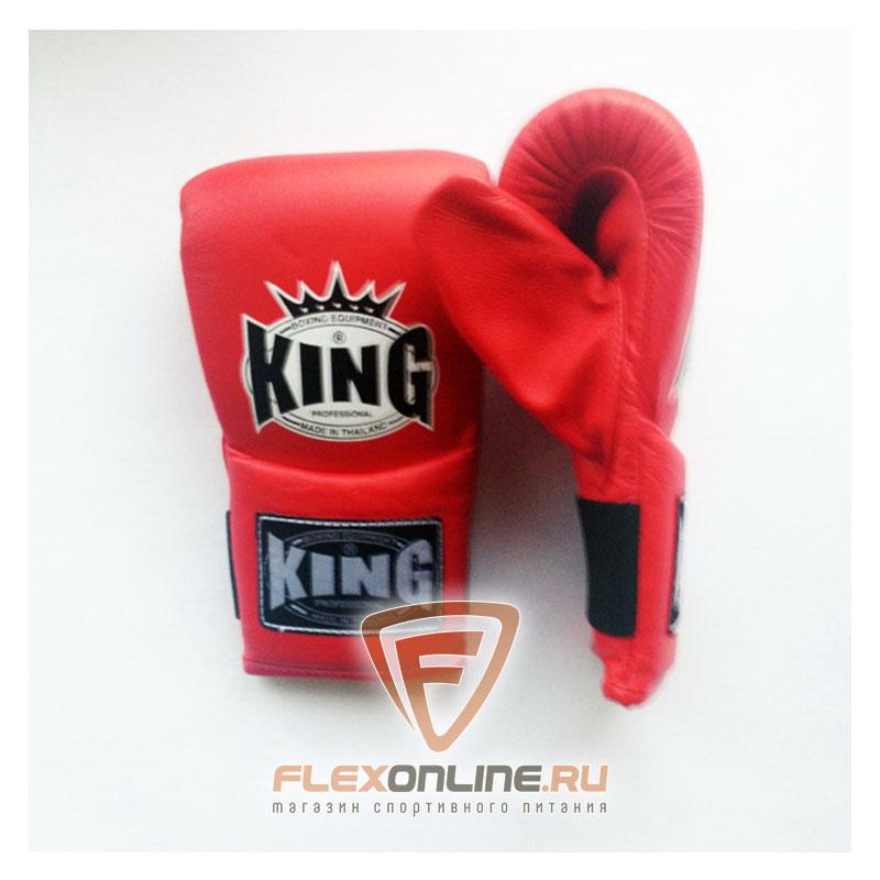 Cнарядные перчатки Перчатки снарядные на резинке L красные от King