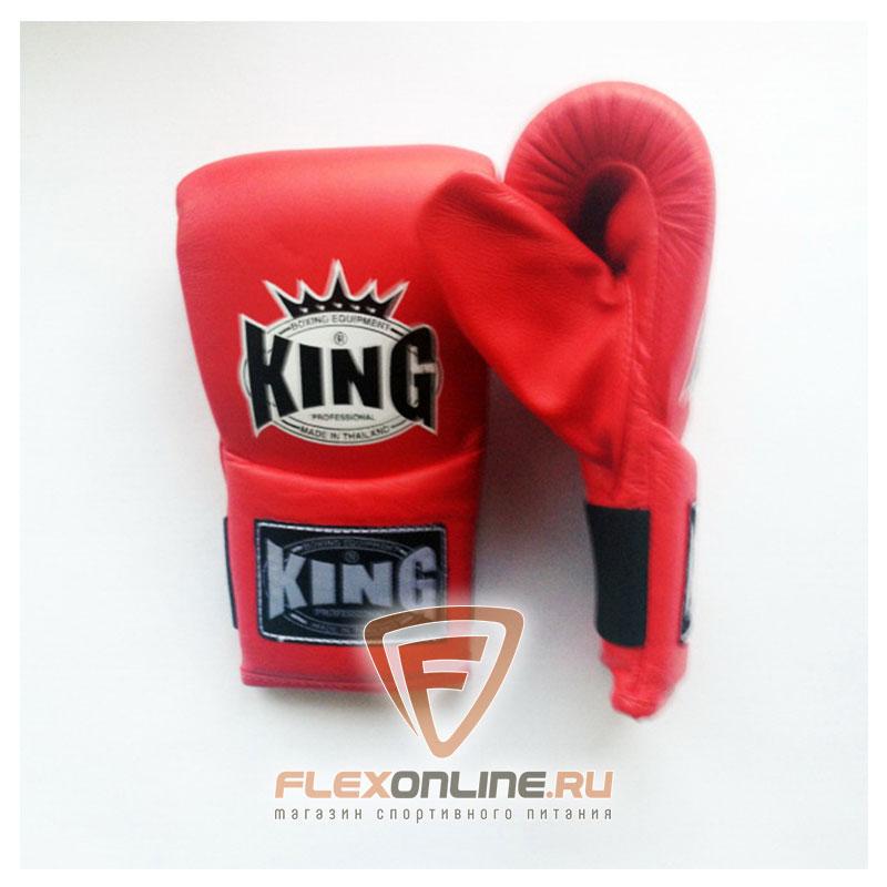 Cнарядные перчатки Перчатки снарядные на резинке XL красные от King