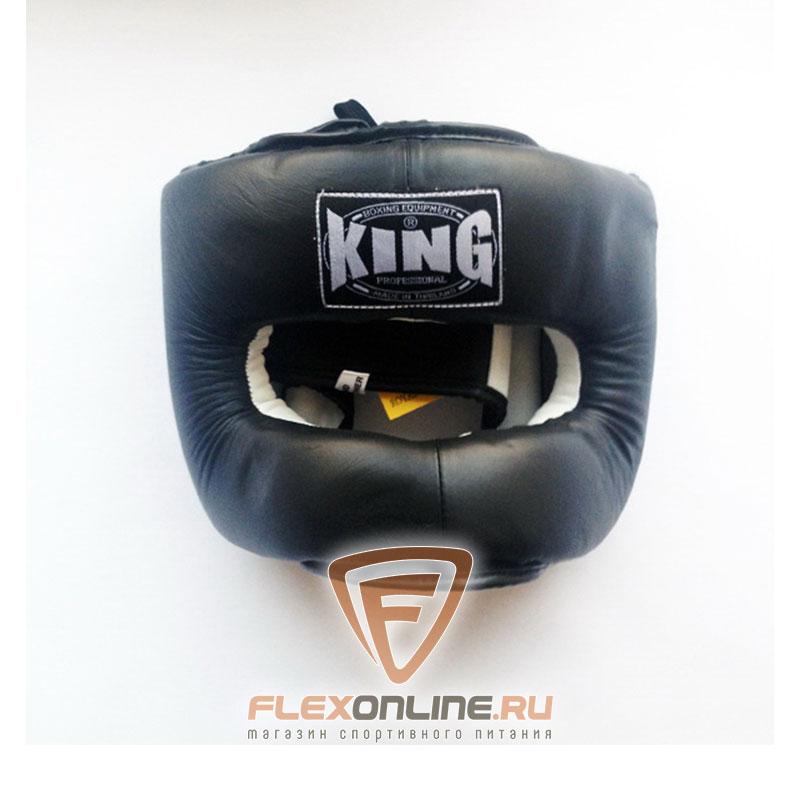 Шлемы Шлем тренировочный закрытый M чёрный от King