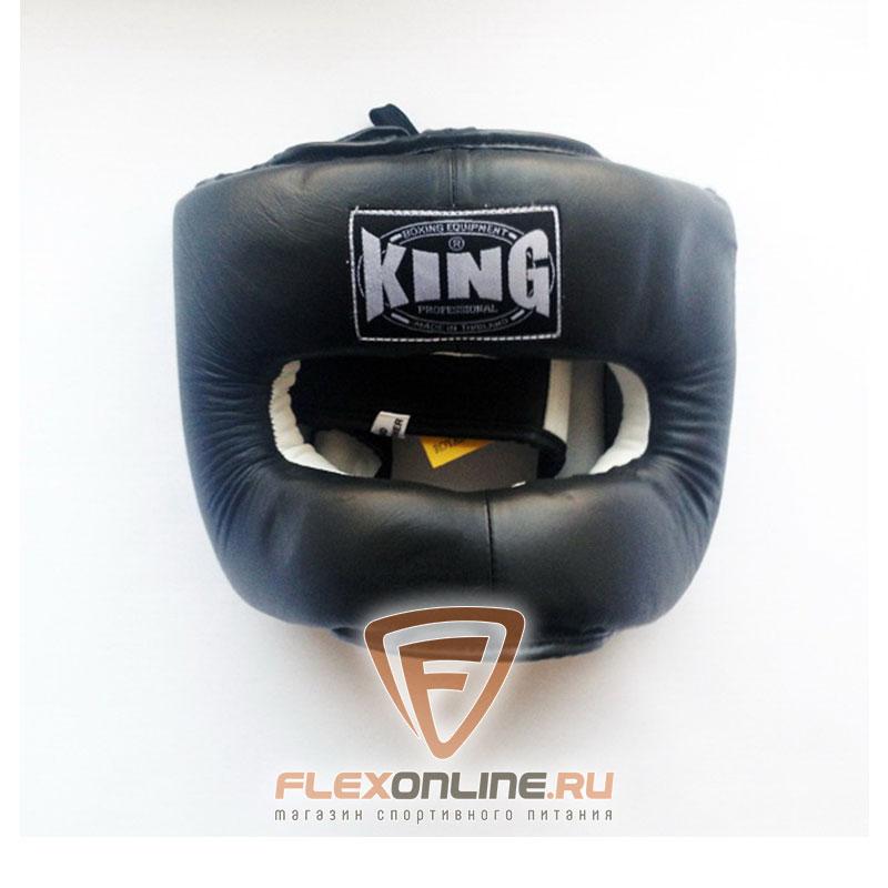 Шлемы Шлем тренировочный закрытый L чёрный от King