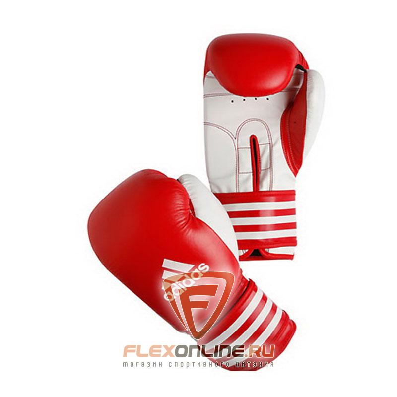 Боксерские перчатки Перчатки боксерские Ultima 10 унций красно-белые от Adidas