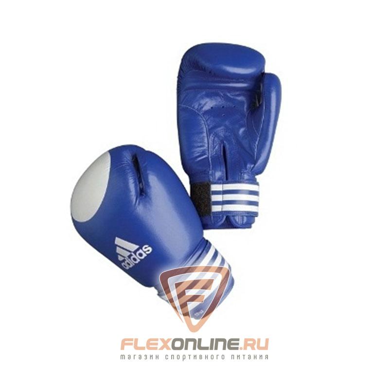 Боксерские перчатки Перчатки боксерские Сertifited 10 унций синие от Adidas