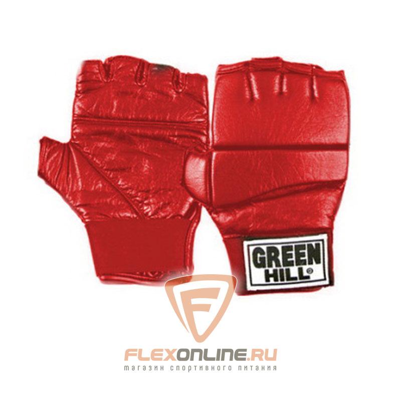 Перчатки MMA Шингарты красные от Green Hill