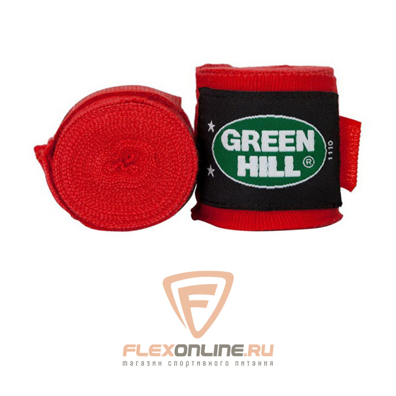 Бинты Бинт боксерский 2,5 метра красный от Green Hill