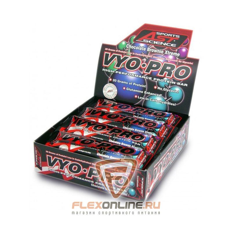 Шоколадки Vyo-Pro Bar от AST