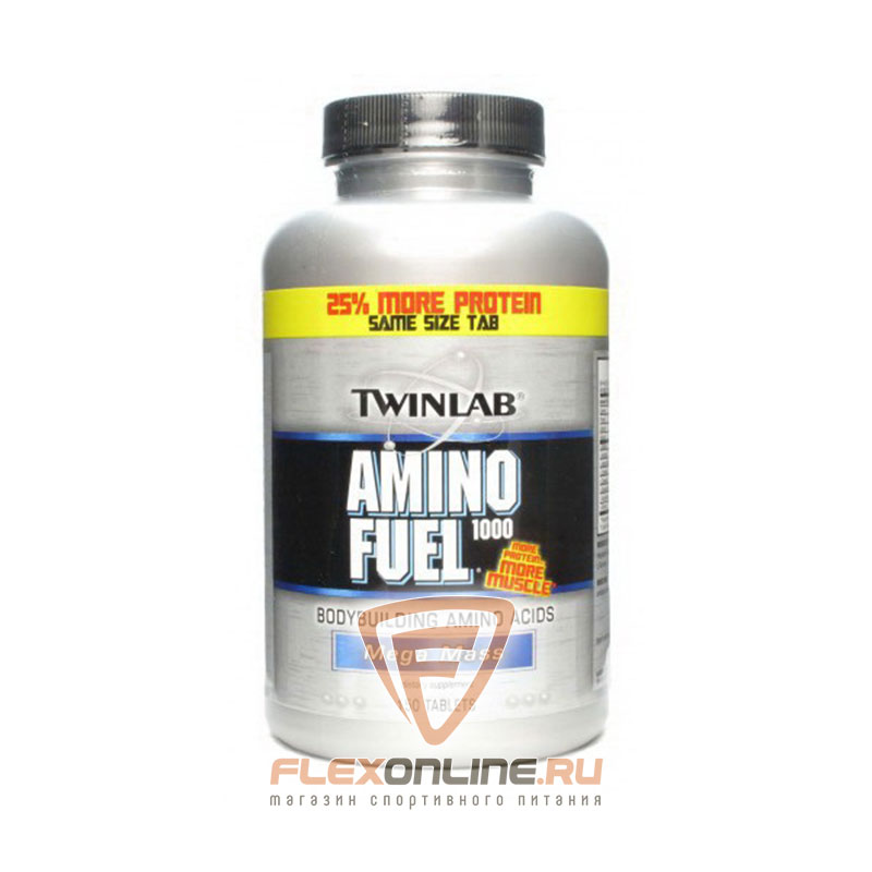 Аминокислоты Amino Fuel 1000 от Twinlab