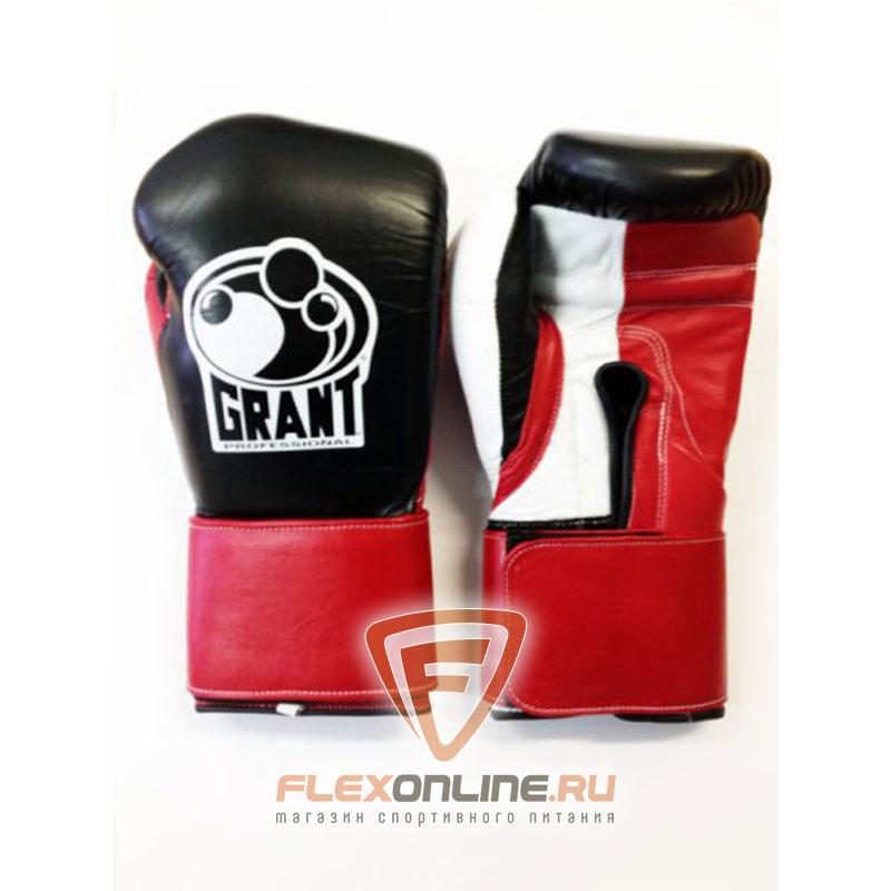 Боксерские перчатки Перчатки боксерские тренировочные на липучке XL от Grant