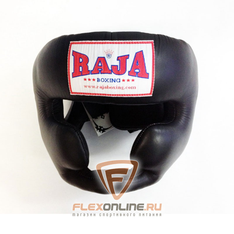 Шлемы Боксёрский шлем тренировочный M чёрный от Raja