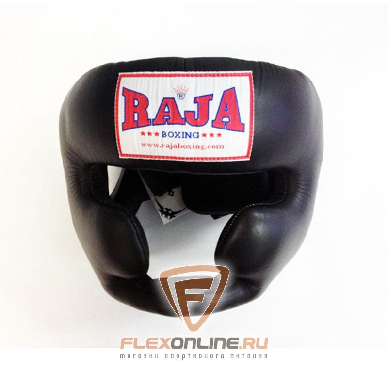 Шлемы Боксёрский шлем тренировочный L чёрный от Raja