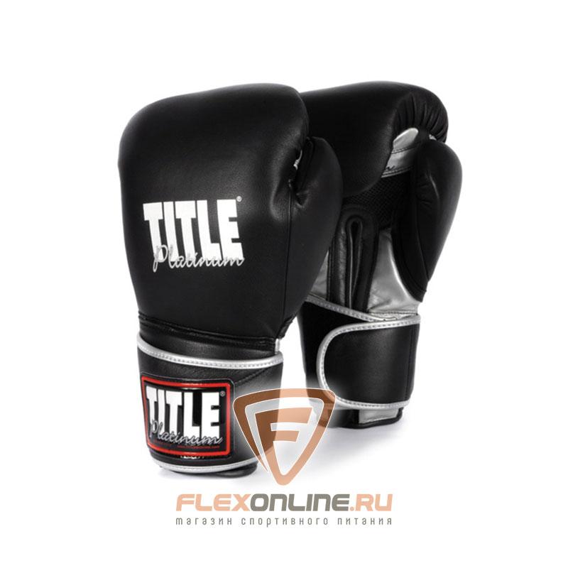 Боксерские перчатки Перчатки боксерские тренировочные 10 унций от Title
