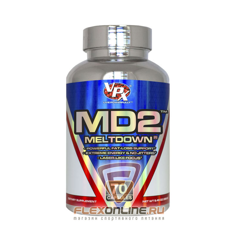 Жиросжигатели MD2 Meltdown от VPX