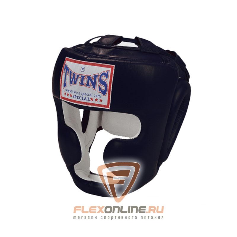Шлемы Боксерский шлем тренировочный с креплением на липучке XL чёрный от Twins