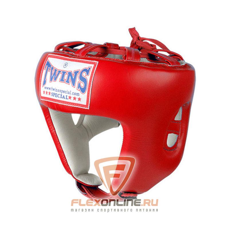 Шлемы Боксерский шлем соревновательный L красный от Twins