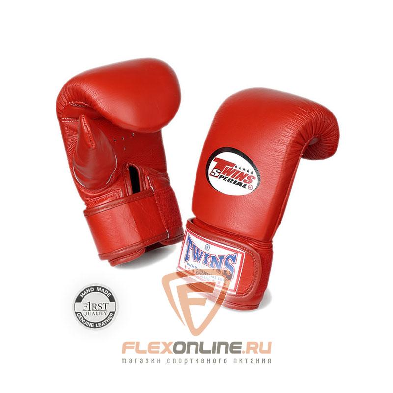 Cнарядные перчатки Перчатки снарядные тренировочные на липучке  M красные от Twins