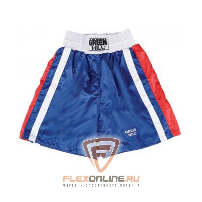 Одежда Трусы боксёрские OLIMPIC синие от Green Hill