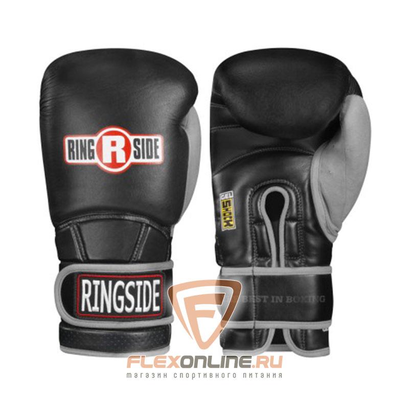 Боксерские перчатки Боксерские перчатки тренировочные 18 унций черно-серые от Ringside