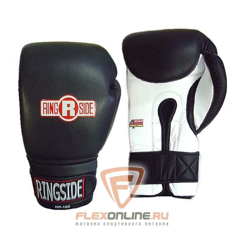 Боксерские перчатки Боксерские перчатки тренировочные 12 унций черно-белые от Ringside