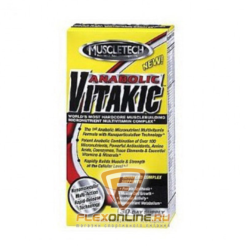 Витамины Anabolic Vitakic от MuscleTech