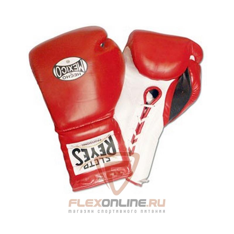 Боксерские перчатки Перчатки боксерские на шнурках 10 унций красные от Cleto Reyes