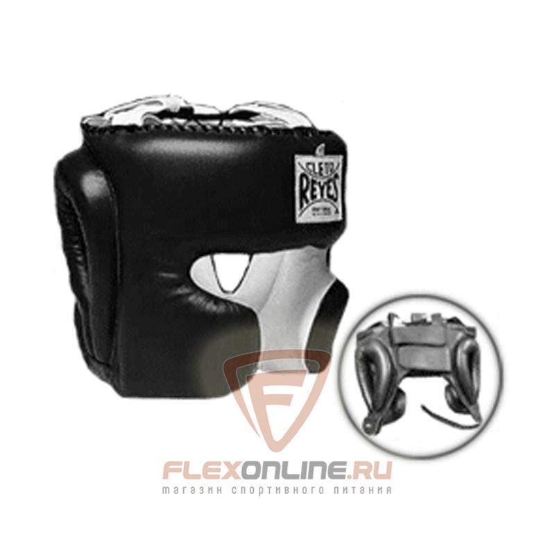 Шлемы Шлем боксерский тренировочный M чёрный от Cleto Reyes