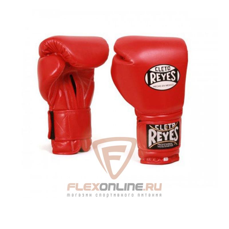Боксерские перчатки Перчатки боксерские на липучке 10 унций красные от Cleto Reyes
