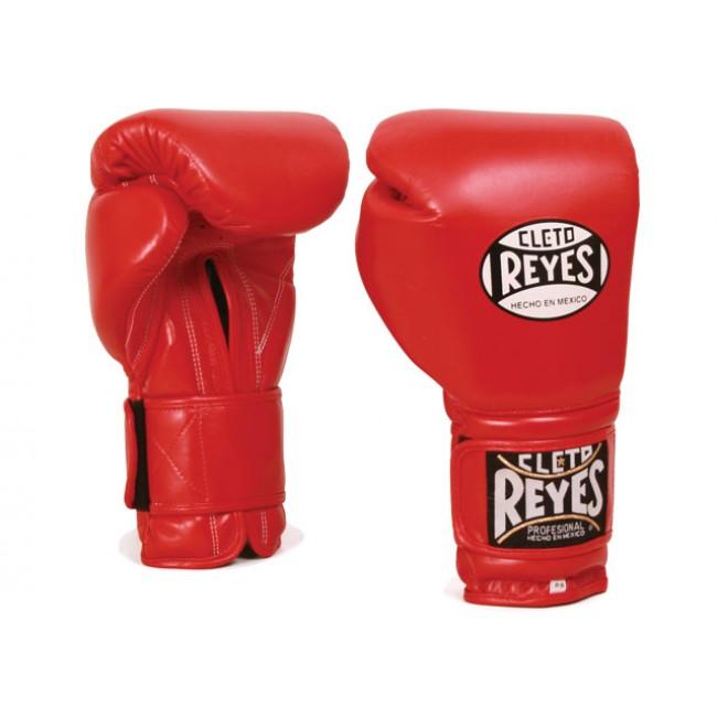 Боксерские перчатки Перчатки боксерские на липучке 18 унций красные от Cleto Reyes