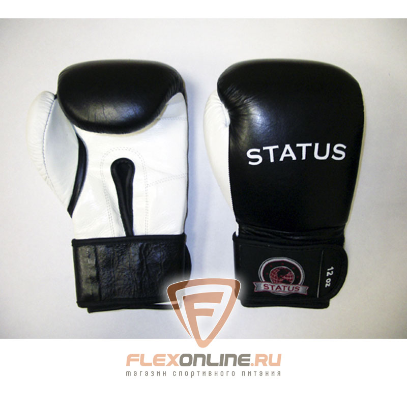 Боксерские перчатки Боксерские перчатки тренировочные на липучке 8 унций от Status