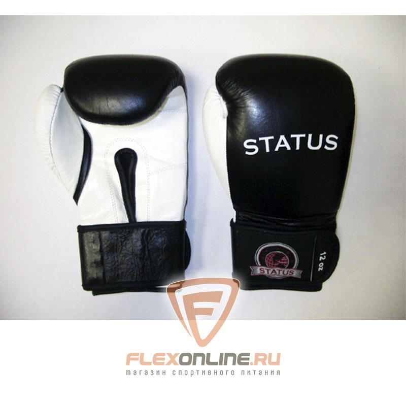Боксерские перчатки Боксерские перчатки тренировочные на липучке 12 унций от Status