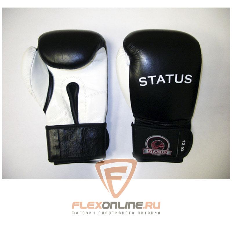 Боксерские перчатки Боксерские перчатки тренировочные на липучке 14 унций от Status