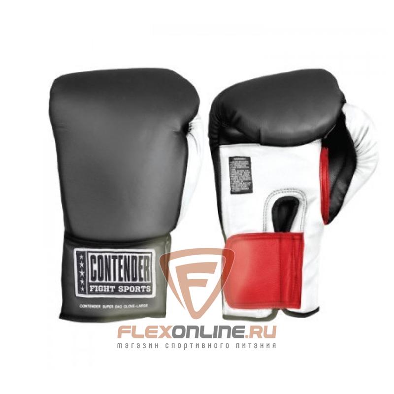 Боксерские перчатки Перчатки боксёрские тренировочные на липучке XL от Contender