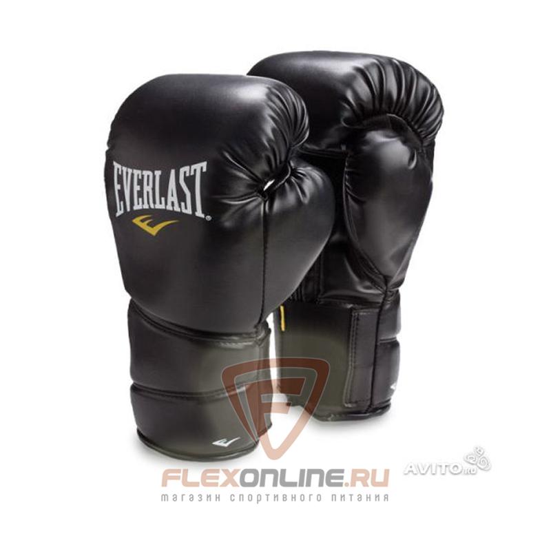 Боксерские перчатки Перчатки боксерские тренировочные Protex2 8 унций S/M от Everlast