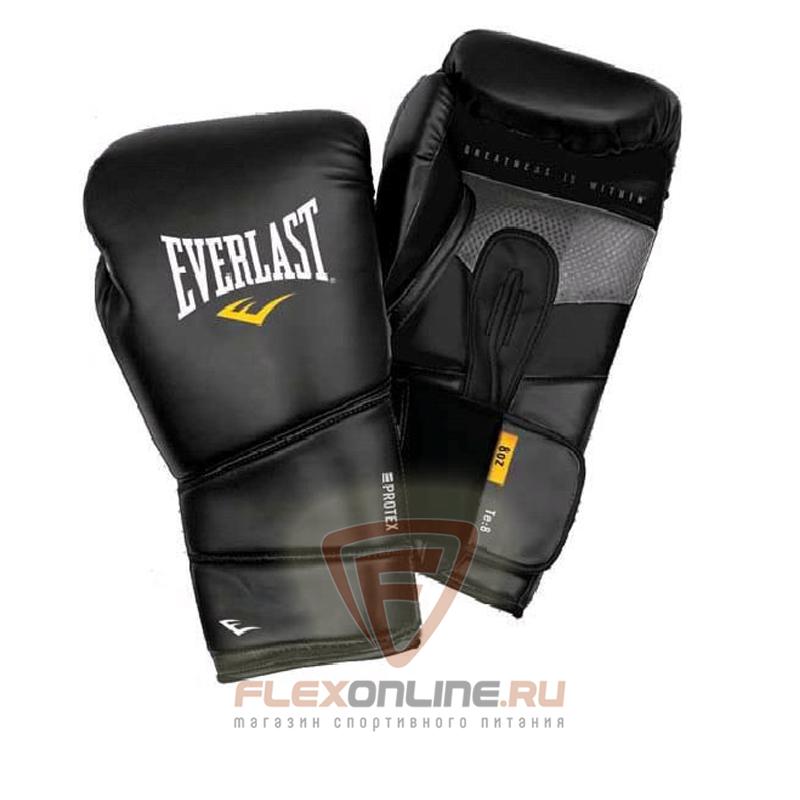 Боксерские перчатки Перчатки боксерские тренировочные Protex2 10 унций S/M от Everlast