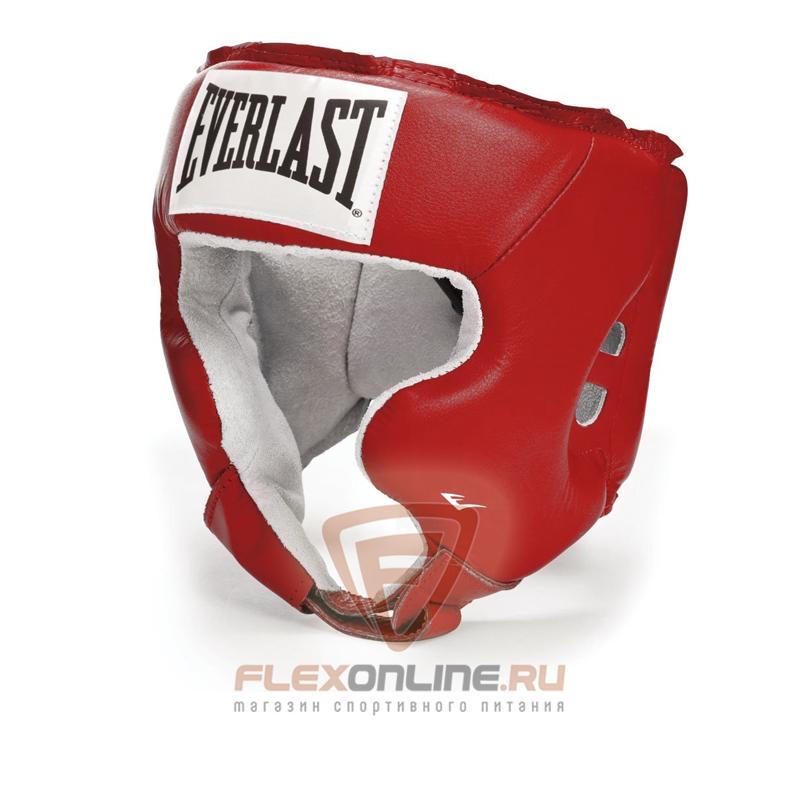 Шлемы Боксерский шлем тренировочный USA Boxing Cheek XL красный от Everlast