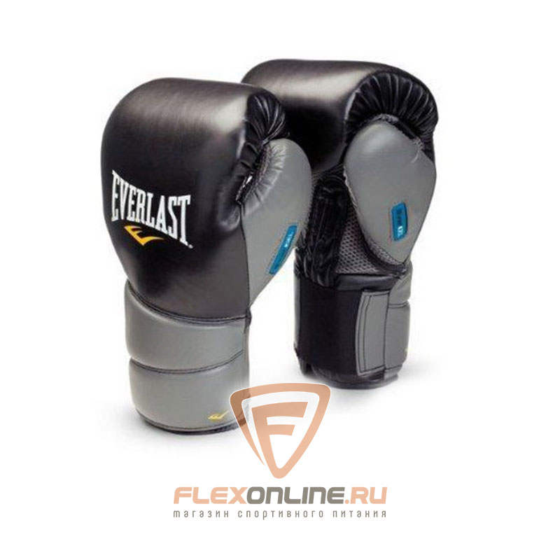 Боксерские перчатки Перчатки боксерские тренировочные Protex2GL 16 унций S/M от Everlast