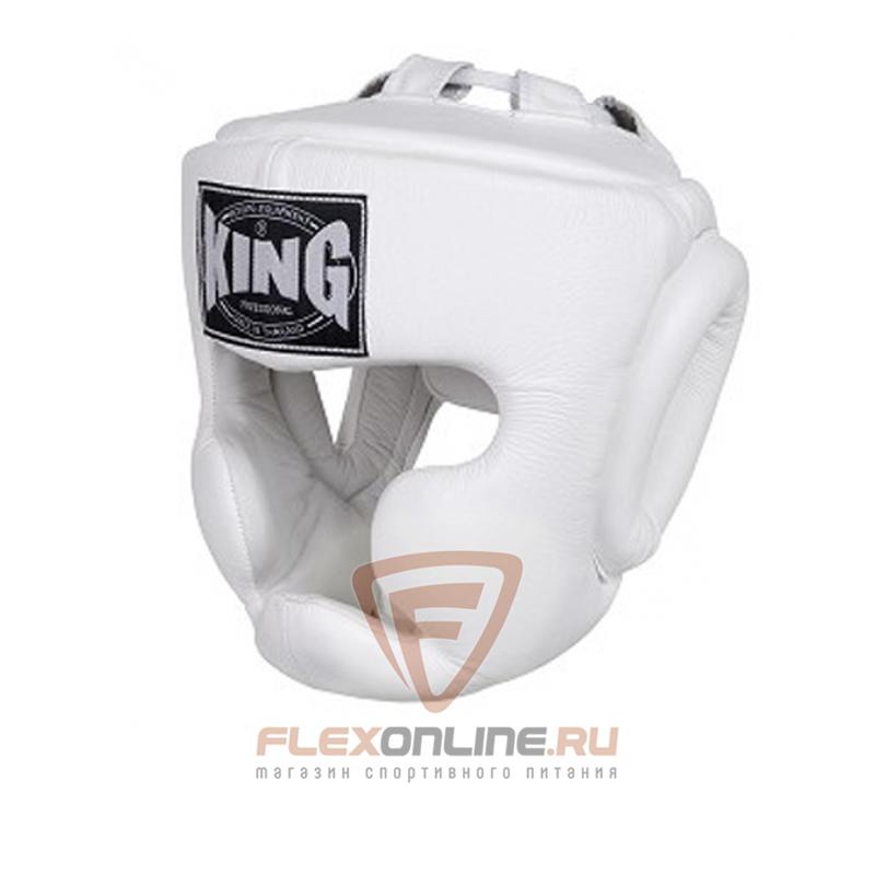 Шлемы Шлем тренировочный S белый от King
