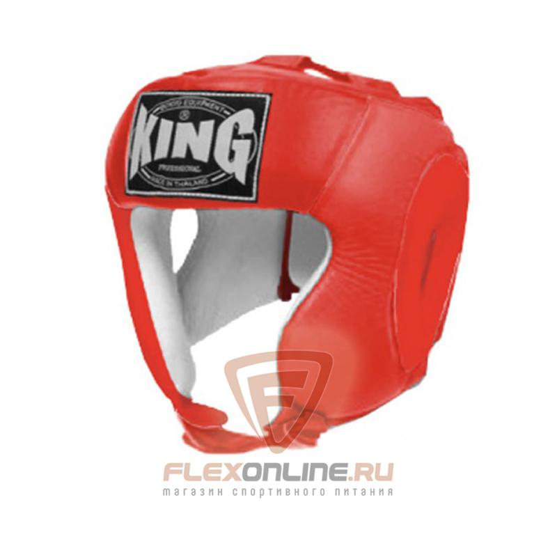 Шлемы Шлем тренировочный S красный от King