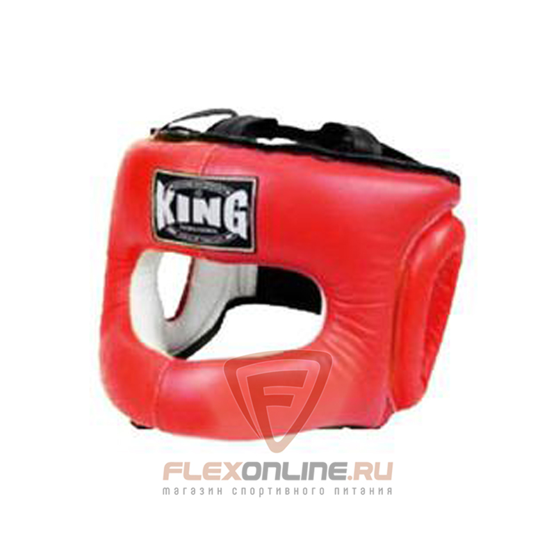 Шлемы Шлем тренировочный закрытый S красный от King