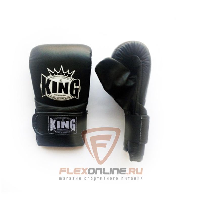 Cнарядные перчатки Перчатки снарядные на резинке S чёрные от King