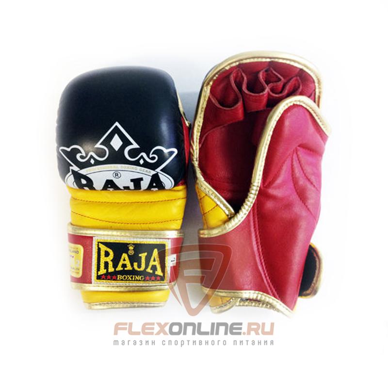 Перчатки MMA Перчатки MMA на липучке XL чёрные от Raja