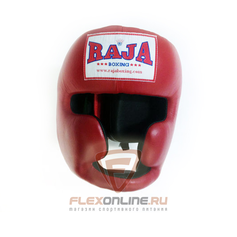 Шлемы Боксёрский шлем тренировочный XL красный от Raja