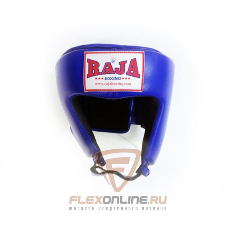 Шлемы Боксёрский шлем соревновательный M синий от Raja