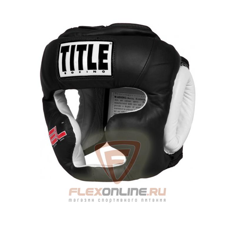 Шлемы Боксерский шлем тренировочный М чёрный от Title