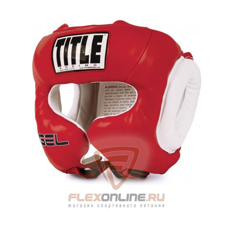 Шлемы Боксерский шлем тренировочный M красный от Title